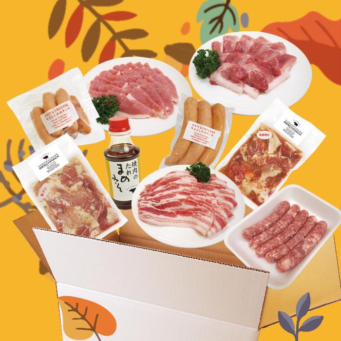 秋のおすすめ便【BBQセット】